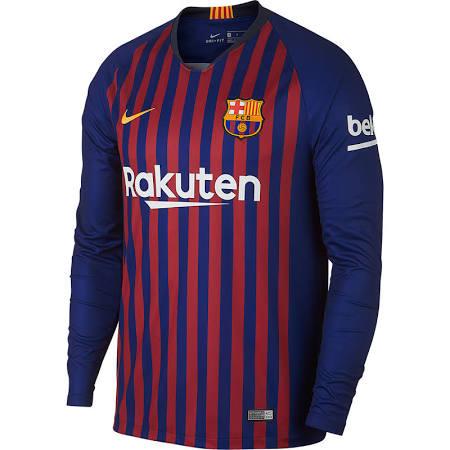 1d4455ddc NIKE BARCELONA 2019 HOME L S JERSEY - Soccer Plus