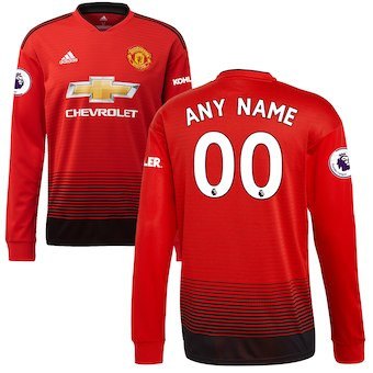 aa9f4e1c703 ADIDAS MANCHESTER UNITED 2019 HOME L/S JERSEY - Soccer Plus