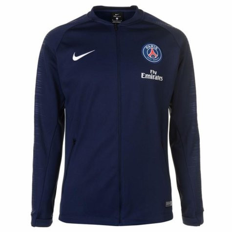 7692626c729 NIKE PARIS SAINT-GERMAIN 2019 Anthem Jacket Navy - Soccer Plus