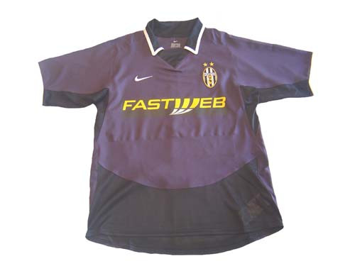 the best attitude 36a00 e8a86 NIKE JUVENTUS 2004 3RD JERSEY PURPLE
