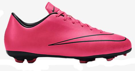 2ea5edb1e NIKE JUNIOR MERCURIAL VICTORY V FG HYPER PINK firm ground soccer shoes