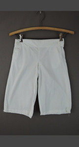 Antique Boy's White Short Pants, 23 inch waist, Edwardian 1900s