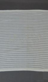 Vintage Embroidered Bed Linen, Monogrammed Daytime Pillow Cover or Dresser Scarf