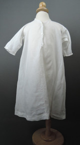 Vintage Edwardian Child Nightgown, button front, Edwardian 1900s, fits 23 inch chest
