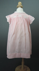 Vintage Pink Little Girl Dress, fits 24 inch chest 1930s