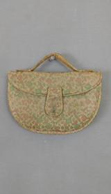 Vintage 1940s Brocade Clutch Purse, Hand Strap, Paristyle
