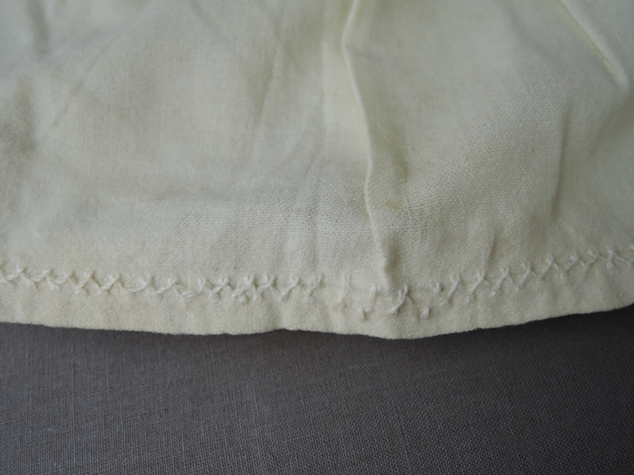 Antique Child's Wool Flannel Petticoat Slip, Victorian 1800s , 21 inch waist