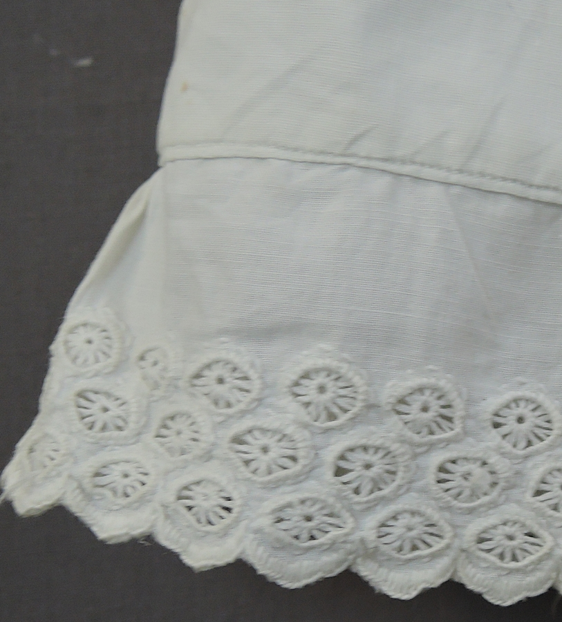Victorian Baby Slip, 38 inches long, 20 inch chest, Antique 1800s Long Slip