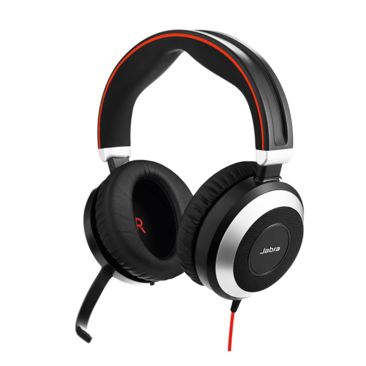 Jabra Singapore Jabra Evolve 80 Ms Stereo Active Noise Cancelling Usb Headset