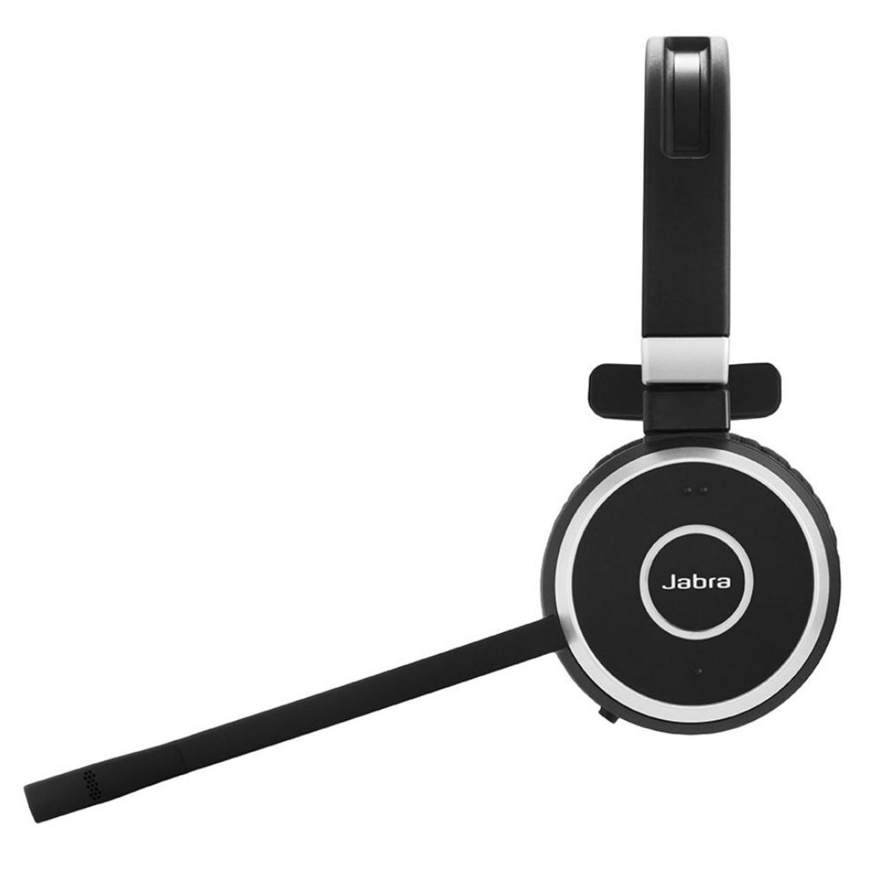 Jabra Singapore Jabra Evolve 65 Uc Stereo Wireless Headset With Charging Stand Usb Adapter