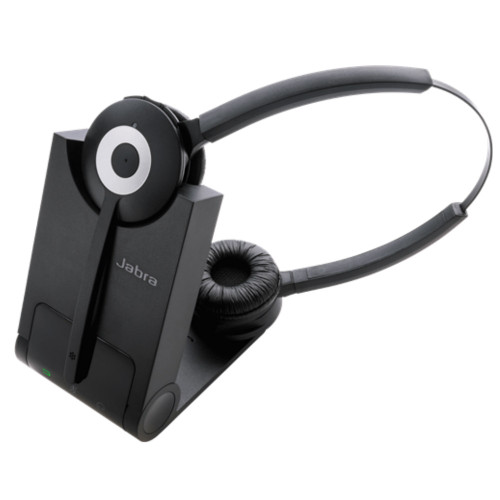 Jabra Pro 930 MS Duo Wireless Headset, Softphones Only
