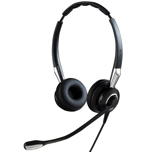 Jabra Biz 2400 II UC Duo Corded Headset, USB, CC