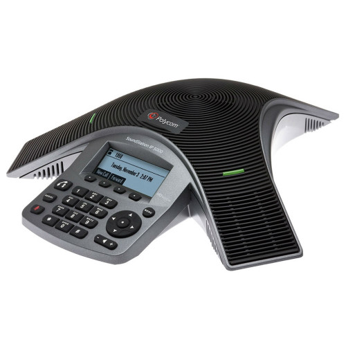 Poly SoundStation IP 5000 SIP-Based IP Conference Phone, Power Over Ethernet