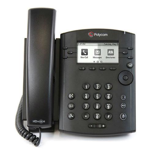 Poly VVX 301 Business Media Phone, Microsoft Skype For Business Edition