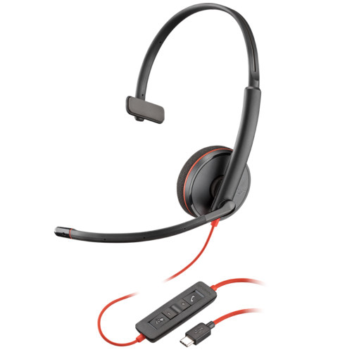 Poly Blackwire 3210 Mono USB-C Office Headset