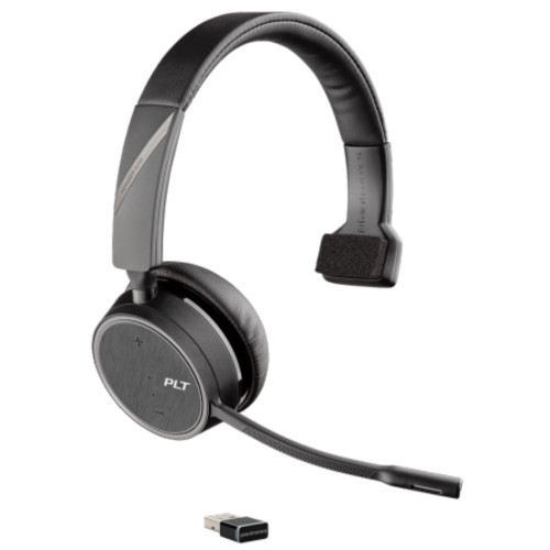 Poly Voyager 4210 UC Mono Wireless Bluetooth Office Headset, USB-A