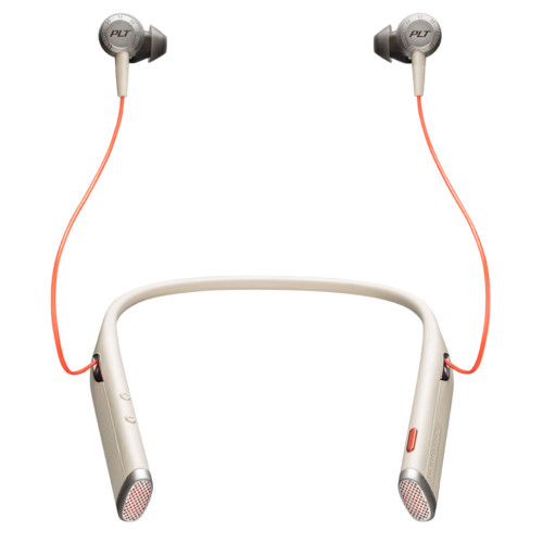 Poly Voyager 6200 UC Bluetooth Neckband Headset (Sand)