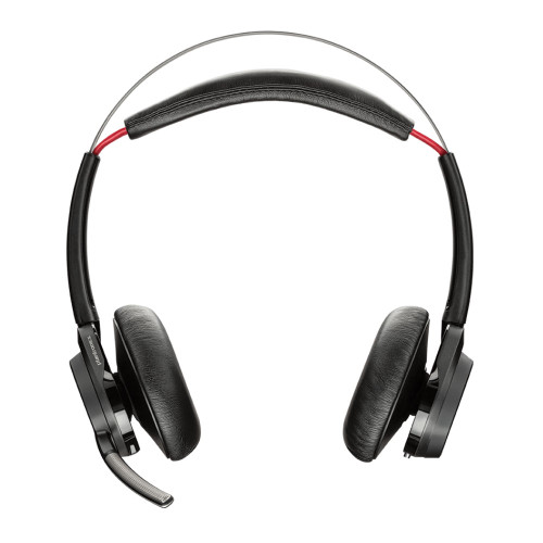 Poly Voyager Focus UC B825 Stereo Bluetooth Headset USB-A, Standard, No Stand