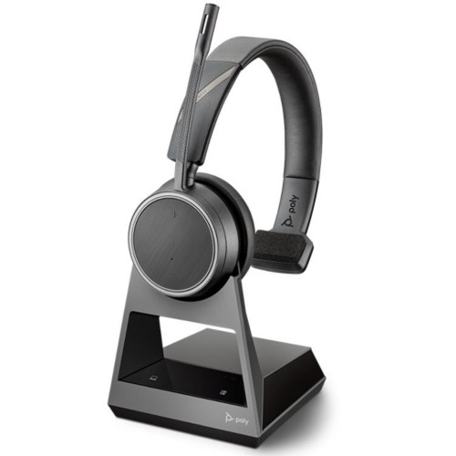 Poly Voyager 4210 Office Mono Wireless Headset, 2 Way Base, Standard, USB-A