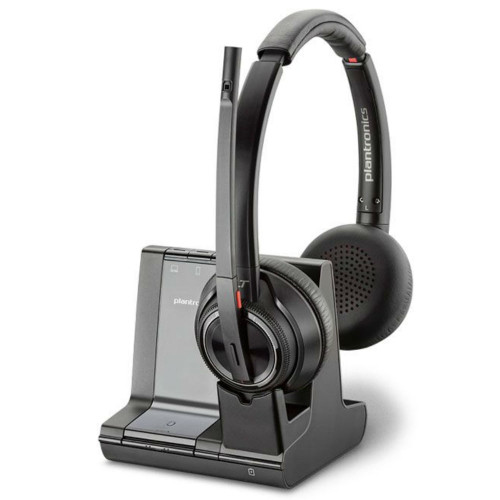 Poly Savi 8220-M Stereo Wireless DECT Headset With ANC & Charging Base, Microsoft Teams