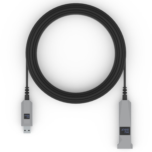 Huddly USB 3 AOC Cable For Huddly GO and Huddly IQ Conference Camera, AM-AF, 10m