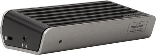Targus DOCK120 2K Universal Docking Station, 1 x USB-C, 3 x USB-A, 1 x HDMI, 1 x DVI, 1 x DisplayPort, Audio In/Out