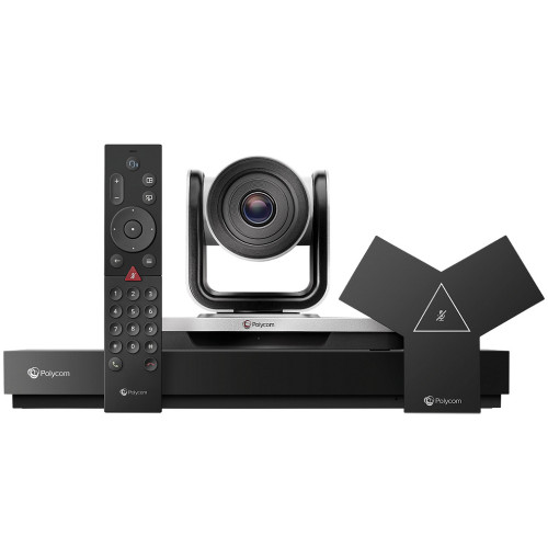 Poly G7500 Video Conferencing System With EagleEye IV Camera, 12x Zoom, Incl. 1 Year Polycom Advantage Service