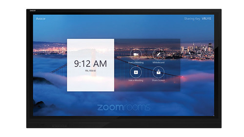 "Avocor E8620, E Series, 86"" 4K Interactive Touch Screen TV, Optimized For Windows 10, Compatible With Microsoft Teams & Zoom"