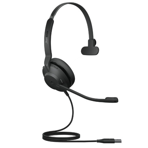 Jabra Evolve2 30 MS Mono Headset, USB-A (Black)