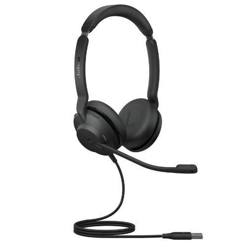 Jabra Evolve2 30 MS Stereo Headset, USB-A (Black)