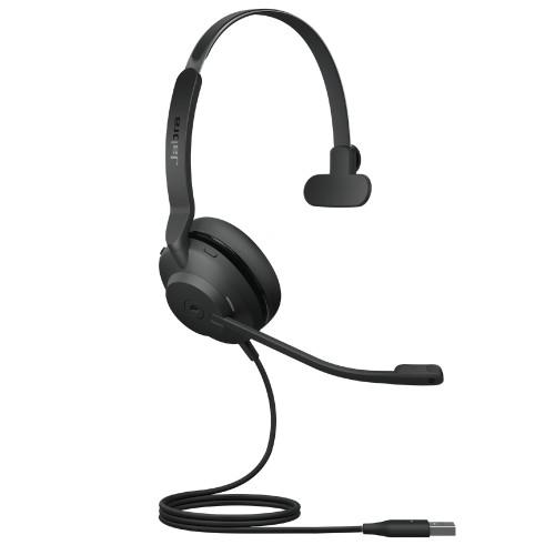 Jabra Evolve2 30 UC Mono Headset, USB-A (Black)