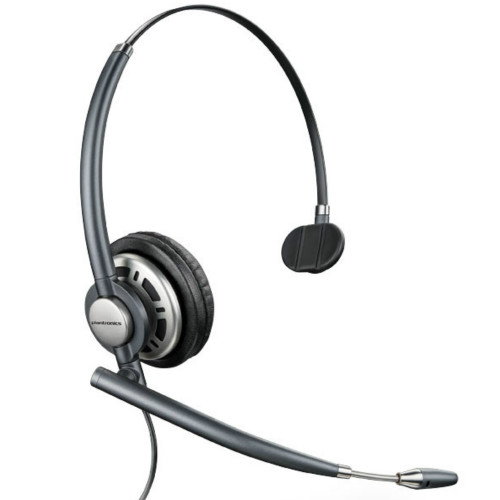 Poly EncorePro 710 QD Mono Noise Cancelling Headset, Quick Disconnect