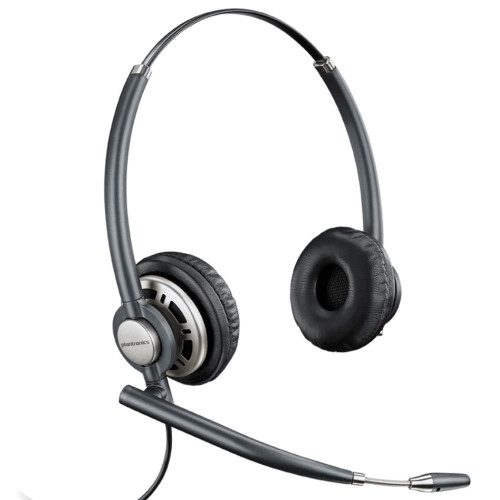 Poly EncorePro 720 Digital Stereo Noise Cancelling Headset, Quick Disconnect