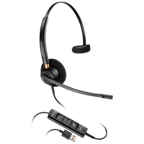 Poly EncorePro 515 USB Mono Noise Cancelling Headset, USB-A
