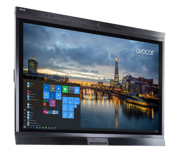 """Avocor W6555, W Series, 65"""" 4K Interactive Touch Screen TV, With Integrated Video Conference Camera, Compatible With Microsoft Teams & Zoom"""