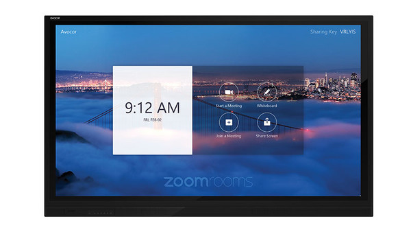 """Avocor E7520, E Series, 75"""" 4K Interactive Touch Screen TV, Optimized For Windows 10, Compatible With Microsoft Teams & Zoom"""