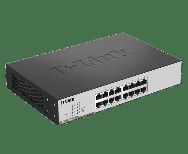 D-Link DGS-1100-16 16-Port Gigabit Smart Managed Switch