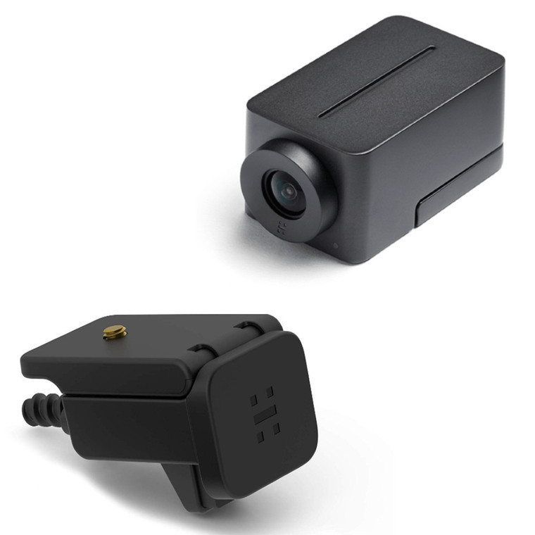 Huddly IQ Video Conference Camera With Mic, Full HD Ultra Wide Angle With Genius Framing (Room Kit and Mounting Bracket)