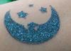Holiday on the Moon - blackened blue eyeshadow