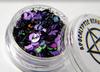 Black Magic - mystical purple and black chunky glitter blend