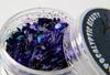 Dark Horizon -purple holographic chunky bat glitter blend