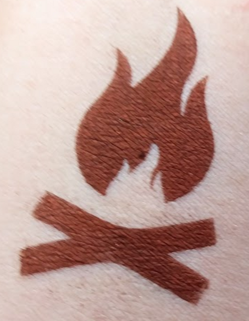 Occult Barbecue - matte barbecue red eyeshadow