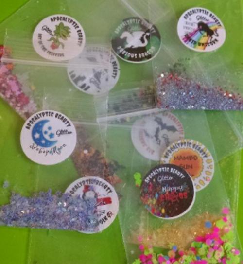 5 Glitter Samples