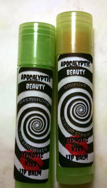 Hypnotic Kiss Lip Balm -- moisturizing vegan lip balm