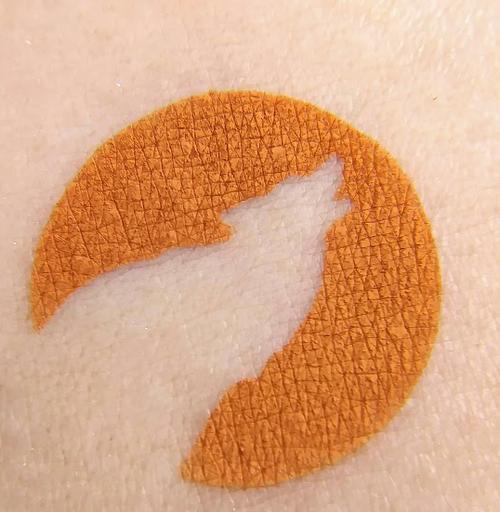Ginger Snap - matte rusty fall orange eyeshadow