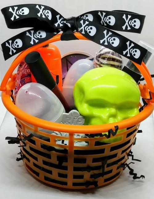 Goth Easter Basket - mystery cosmetics basket!