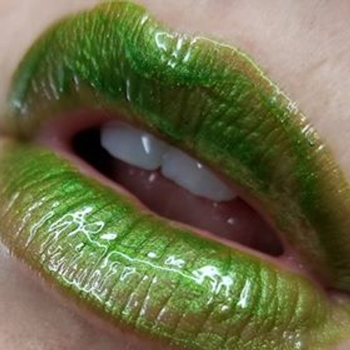 ReAgent green lip gloss / topcoat