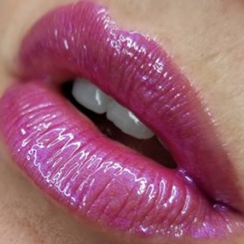 Candy Ghoul sparkly pink lip gloss