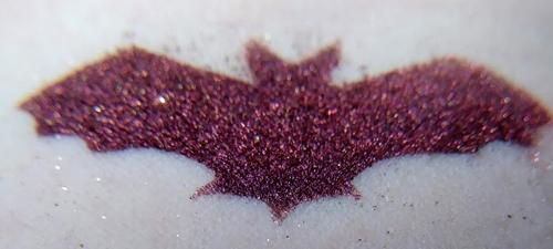 Bathory - blackened red eyeshadow