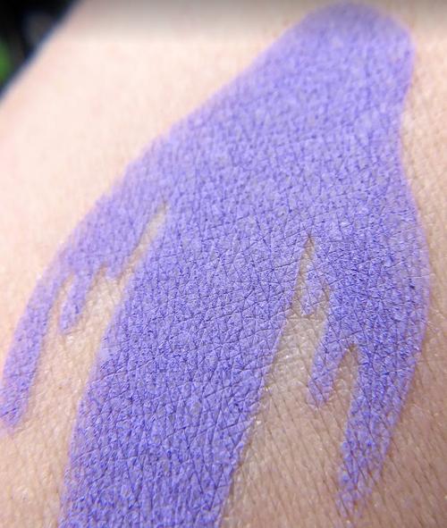 Phantasm - matte violet eyeshadow